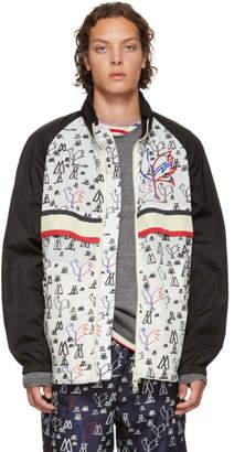 Moncler Genius 2 1952 White and Black Pop Art Allos Jacket