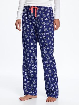 Flannel Drawstring Sleep Pants for Women $16.94 thestylecure.com