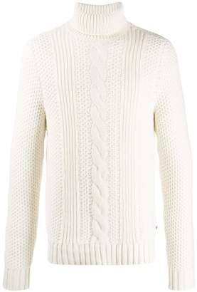 Michael Kors cable knit turtleneck jumper