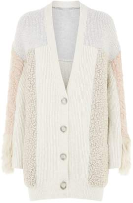 Stella McCartney Mixed Texture Cardigan