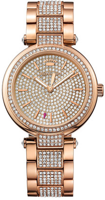 Juicy Couture Women's Sienna Crystal Bracelet Watch $495 thestylecure.com