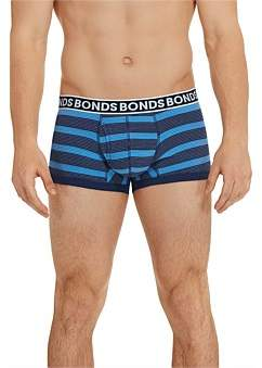 Bonds Fit Stripe Trunk