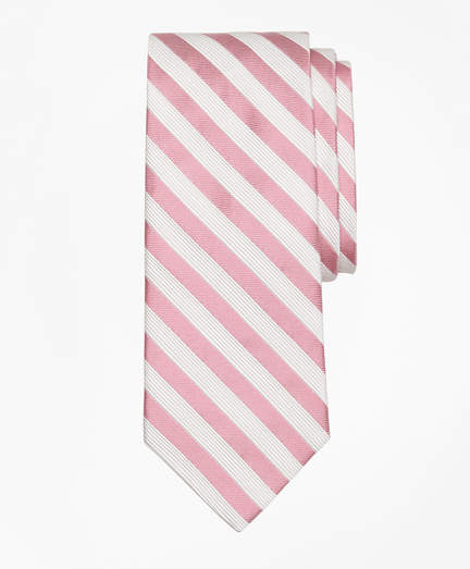 Brooks Brothers Satin Music Stripe Tie