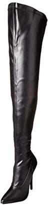 Devious Women's Dom3000/B/PU Boot