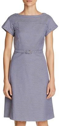 Weekend Max Mara Prussia Belted Dress $395 thestylecure.com