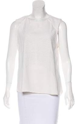 A.L.C. Silk Embellished Top