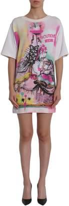 Moschino Cotton Sweatshirt Dress