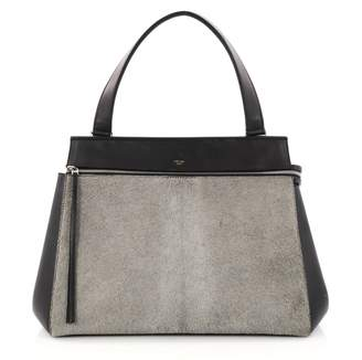 Celine Edge pony-style calfskin handbag
