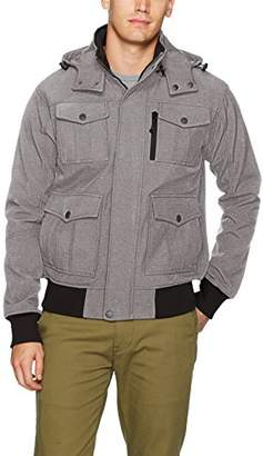 Ben Sherman Men's Softshell Bomber Jacket
