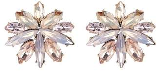 BaubleBar Corvina Marquise-Cut Rhinestone Cluster Stud Earrings