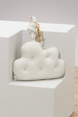 Anya Hindmarch Leather cloud keychain