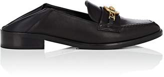 Versace Women's Logo-Bit Leather Loafers