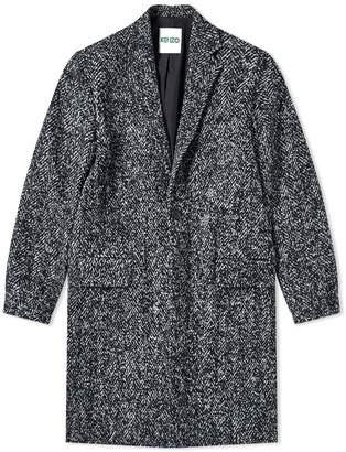 Kenzo Long Wool Coat
