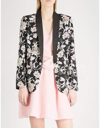 Claudie Pierlot Victoriane Bis crepe jacket