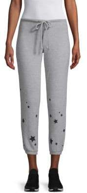 Chaser Star-Print Slouchy Pants
