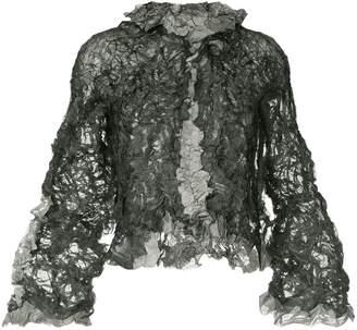 Issey Miyake Pre-Owned crumpled jacket