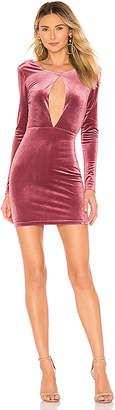 by the way. Noelle Cross Back Velvet Mini Dress