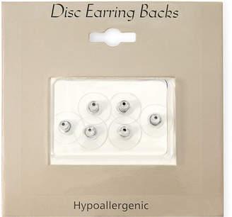 MIXIT Sensitive Ears Silver-Tone 6-pk. Replacement Disc Earring Backs