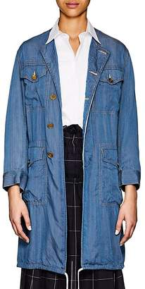 Comme des Garcons Women's 4-Pocket Washed Twill Jacket