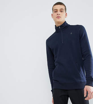 French Connection TALL Half Zip Sweat