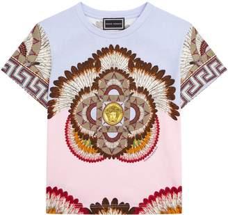 Versace Feather Print T-shirt