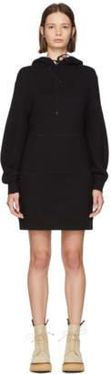 R 13 Black Hoodie Dress