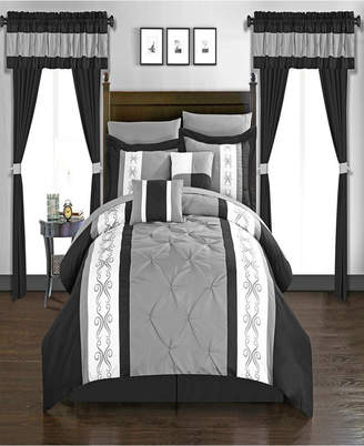 Chic Home Icaria 20 Piece Queen Bed In a Bag Comforter Set Bedding