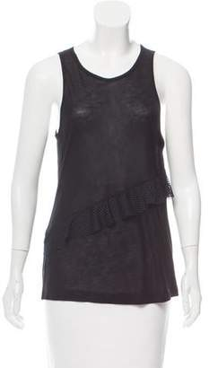 Koral Sleeveless Ruffle-Accented Top w/ Tags