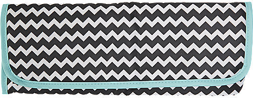 Sally Thermal Pouch Black and White Chevron