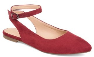 Co Brinley Womens Sling-back Ankle Strap Flat