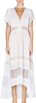 Adelyn Rae Mazie Woven Lace Maxi Dress