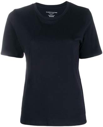Majestic Filatures plain knitted T-shirt