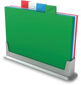 Joseph Joseph Index Color Coded Cutting Board Set