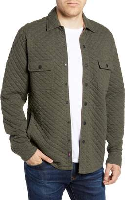 Faherty Belmar Quilted Shirt Jacket