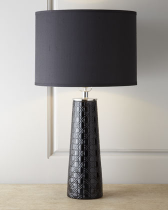 Jamie Young Etched Pillar Table Lamp