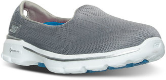Skechers Women's GOwalk 3 - Insight Walking Sneakers from Finish Line $39.99 thestylecure.com