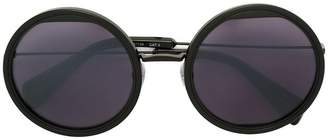 Yohji Yamamoto round shaped sunglasses