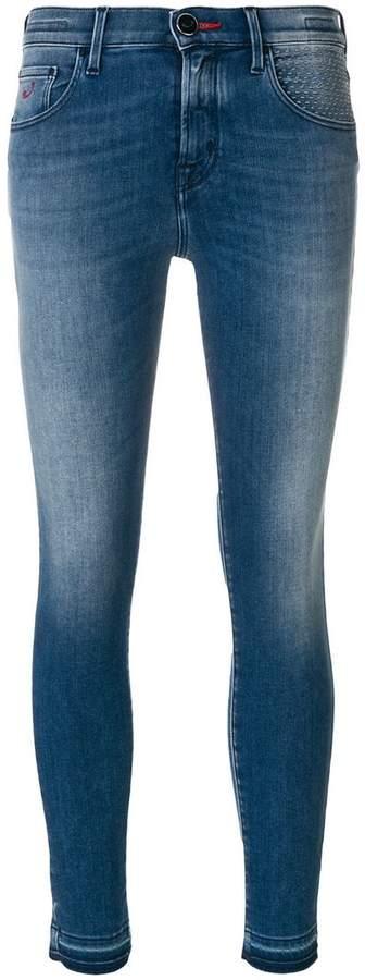 'Kimberlt' Cropped-Jeans