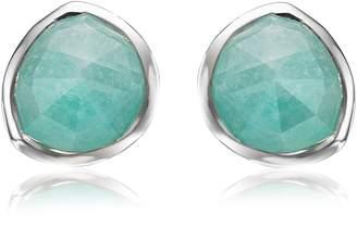 Monica Vinader Siren Amazonite Stud Earrings
