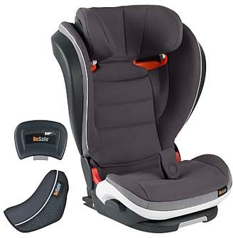 BeSafe Izi Flex High-Back Booster Group 2/3 i-Size Seat, Metallic Grey