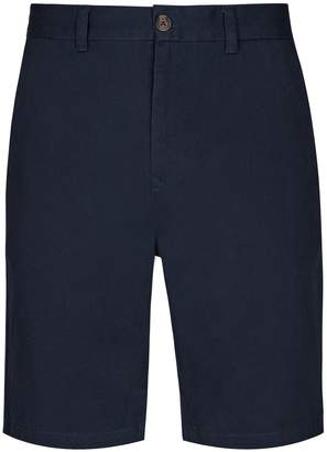 Dorothy Perkins Womens **Burton Navy Chino Shorts