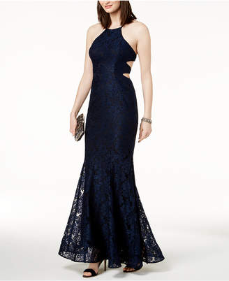 Xscape Evenings Strappy Lace Gown