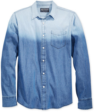 American Rag Men's Ombré Shirt, Only at Macy's $29.98 thestylecure.com