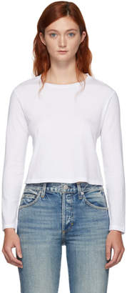 Amo White Babe Long Sleeve T-Shirt