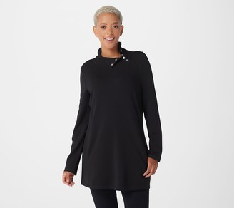 Susan Graver Weekend Cotton Modal French Terry Tunic