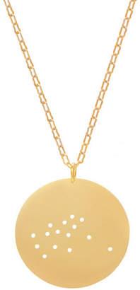 Julie Nolan Gold Dipped Zodiac Pendant