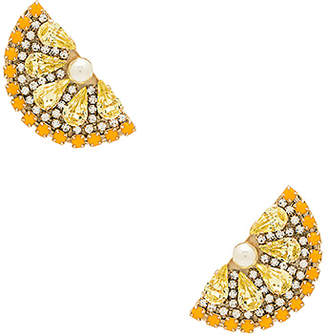 Anton Heunis Lemon Slice Earrings