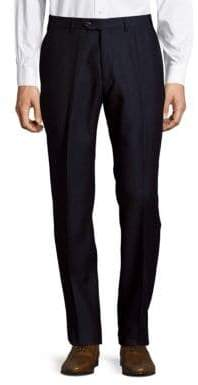 Giorgio Armani Textured Wool Pants