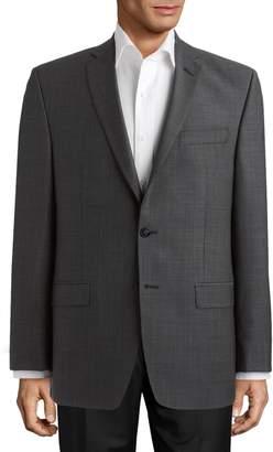 Calvin Klein Modern Fit Wool Suit Jacket