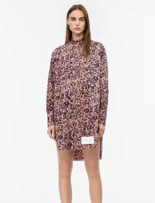 Calvin Klein Cotton Printed Tunic Shirt Dress